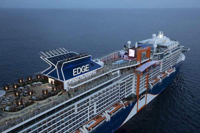 Royal Caribbean Cruises ordina a Chantiers de l'Atlantique la quinta Edge