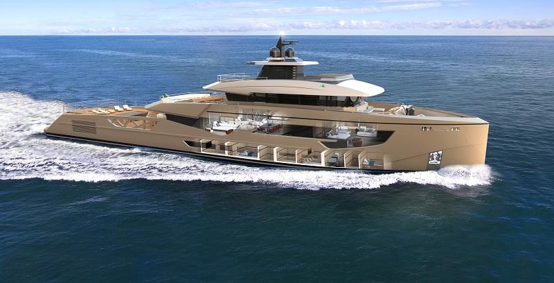 Open space e privacy: Rosetti Superyachts svela nuovi dettagli del suo 52 metri Supply Vessel