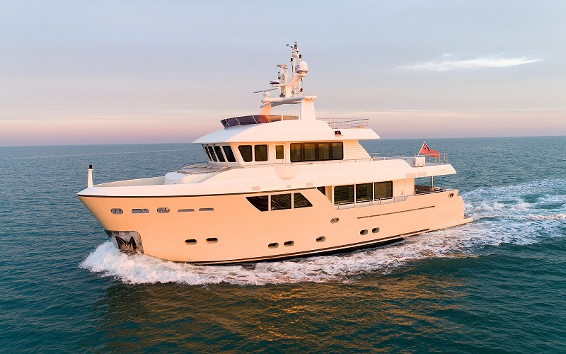 Tre explorer yacht Darwin Class di seconda mano in vendita da CdM Pre-Owned Sales Department