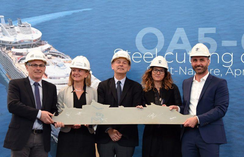 Avviata la costruzione della quinta nave di classe Oasis