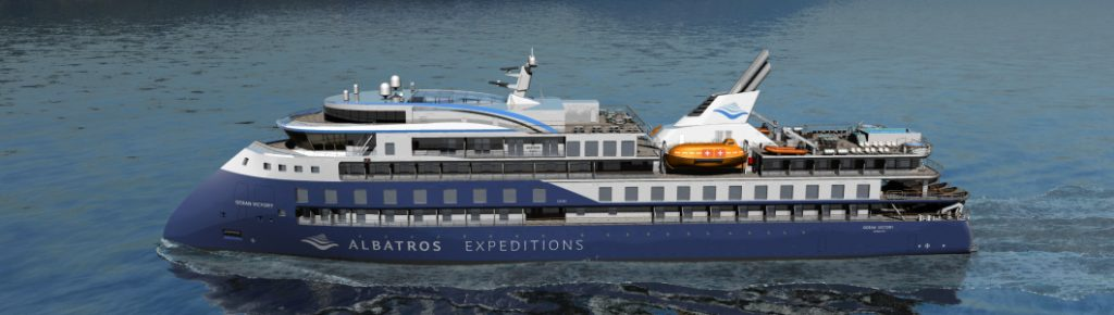 Albatros Expeditions ordina la seconda Infinity
