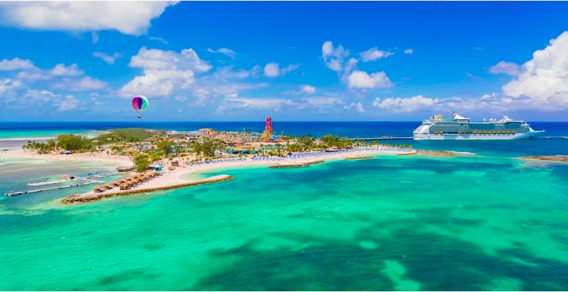 Royal Caribbean inaugura l'isola privata Perfect Day at CocoCay