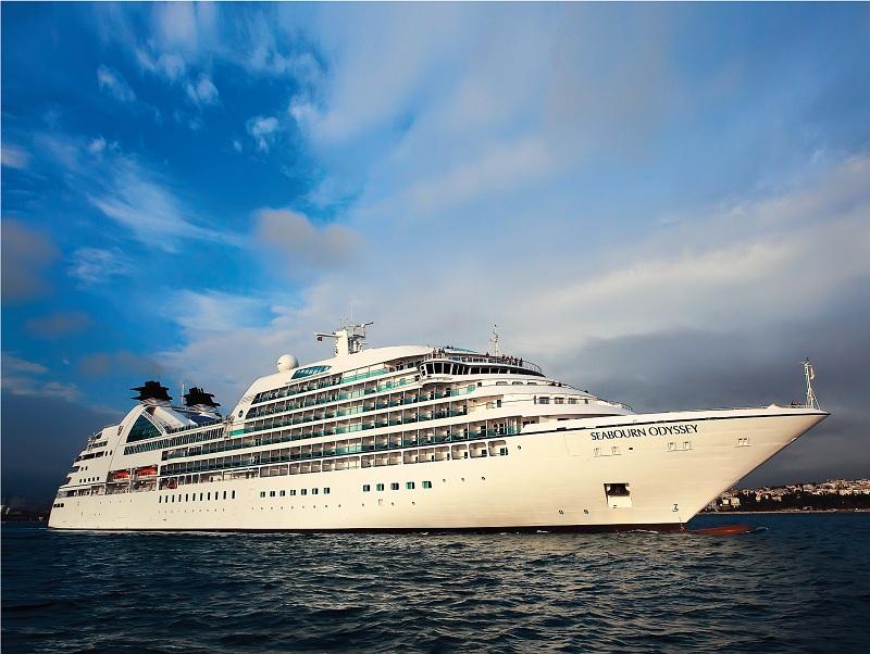 Nuovo design di lusso contemporaneo e moderna tecnologia per la Seabourn Odyssey