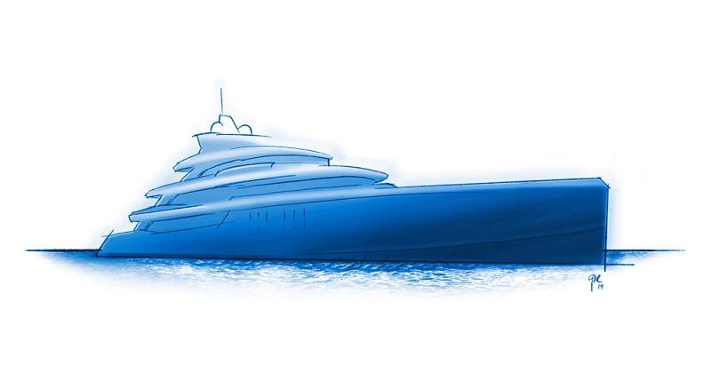 Venduto ad un cliente americano Project Fenestra, custom Benetti di 67 metri