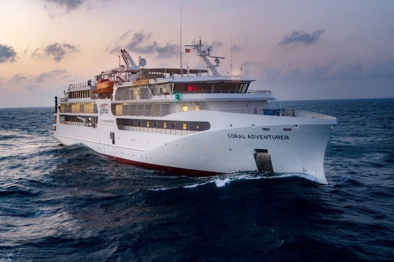 Coral Expeditions ordina a Vard la gemella di Coral Adventurer