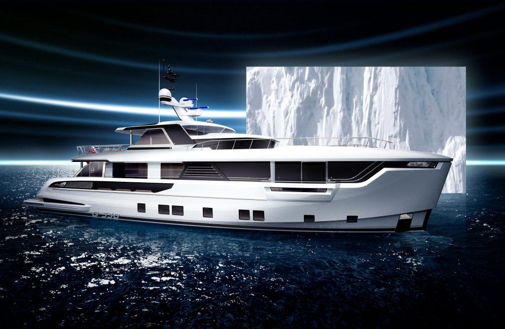 Dynamiq entra nel mercato degli explorer yacht con il progetto Global 330