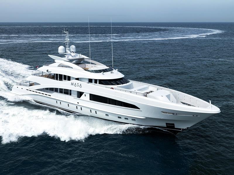 Consegnata Masa, ottava unità della classe 5000 Aluminium di Heesen Yachts