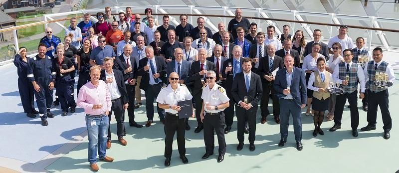 Saga Cruises prende in consegna la nuova ammiraglia Spirit of Discovery