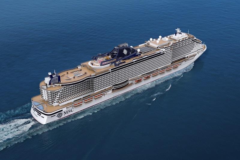 MSC Seashore, la nave espressione del Made in Italy arriverà nell'estate 2021