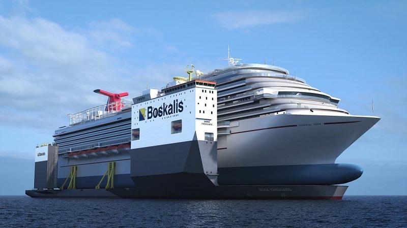 Per le riparazioni alla Carnival Vista sarà impiegata una nave da trasporto semisommergibile