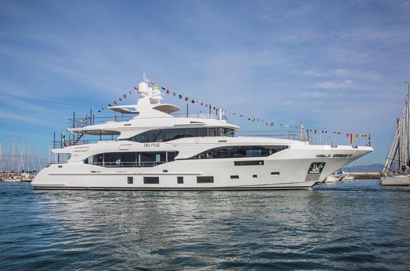 Per la stagione estiva 2019 Benetti consegna tre yacht della categoria Class
