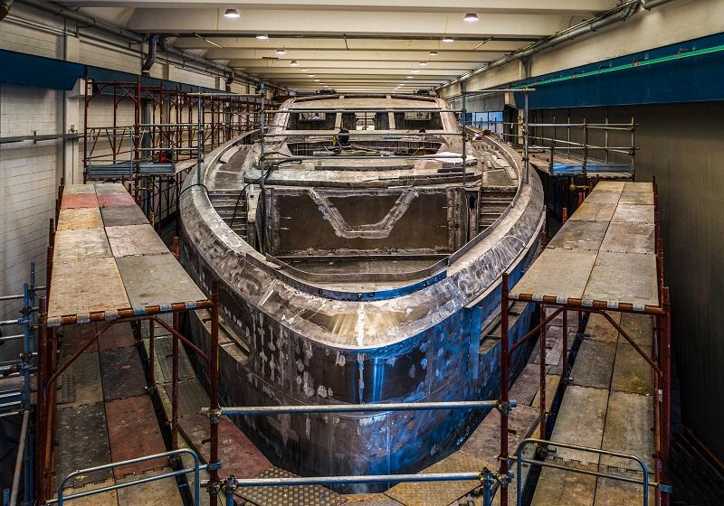 Procede la costruzione del CCN Fuoriserie di 40 metri per un armatore europeo