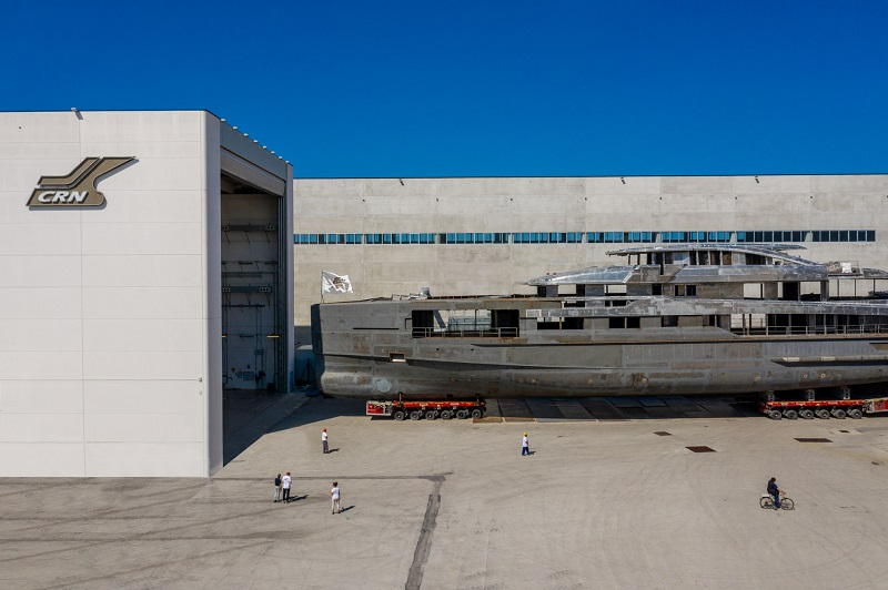 Prende forma il nuovo yacht one-off CRN M/Y 138 62 metri