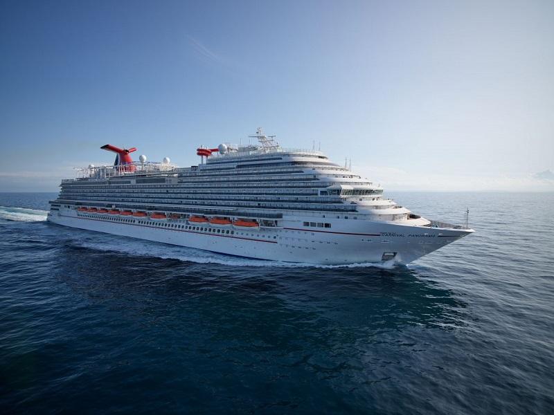 Completate con successo le prove in mare della Carnival Panorama