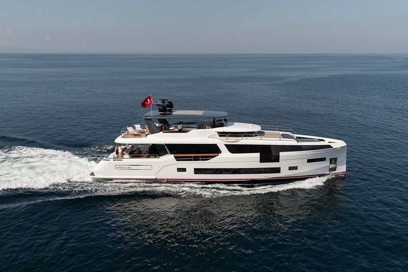 Sirena Yachts vara l'ammiraglia Sirena 88