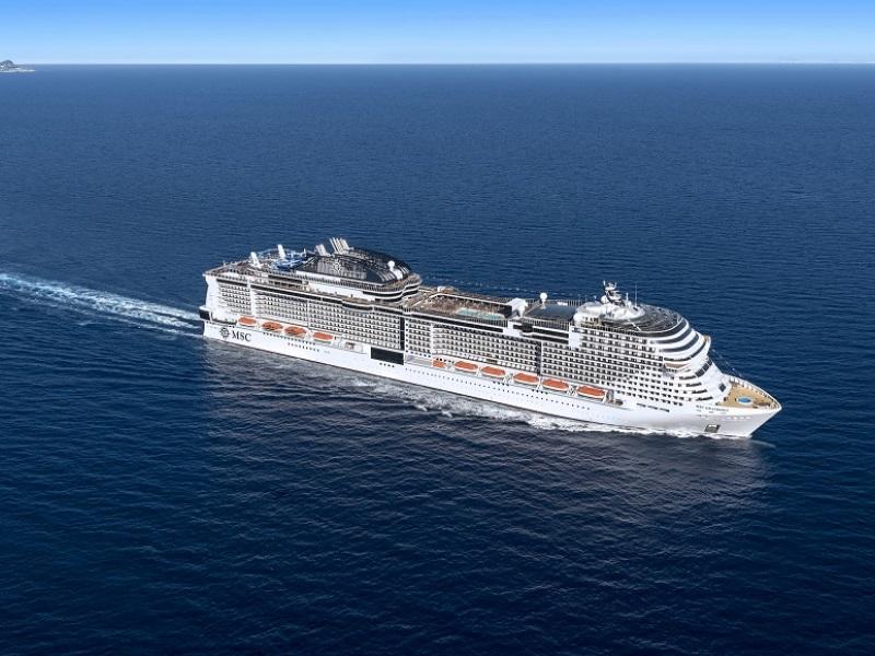 E' in arrivo la nave più grande della flotta MSC Crociere: al via il countdown per il battesimo di MSC Grandiosa