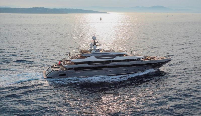 64Steel Attila, l'ammiraglia Sanlorenzo più prestigiosa e imponente