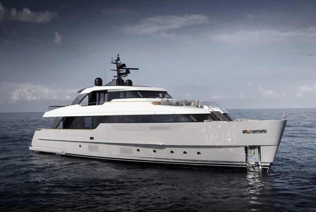 Sanlorenzo SD96: il nuovo yacht firmato da Patricia Urquiola debutta al Cannes Yachting Festival 2019