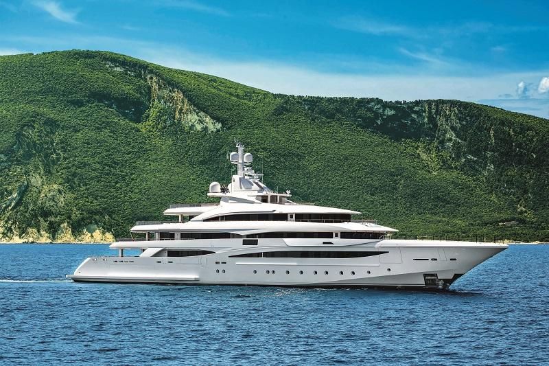 CRN presenta il nuovo megayacht M/Y 135 al Monaco Yacht Show 2019