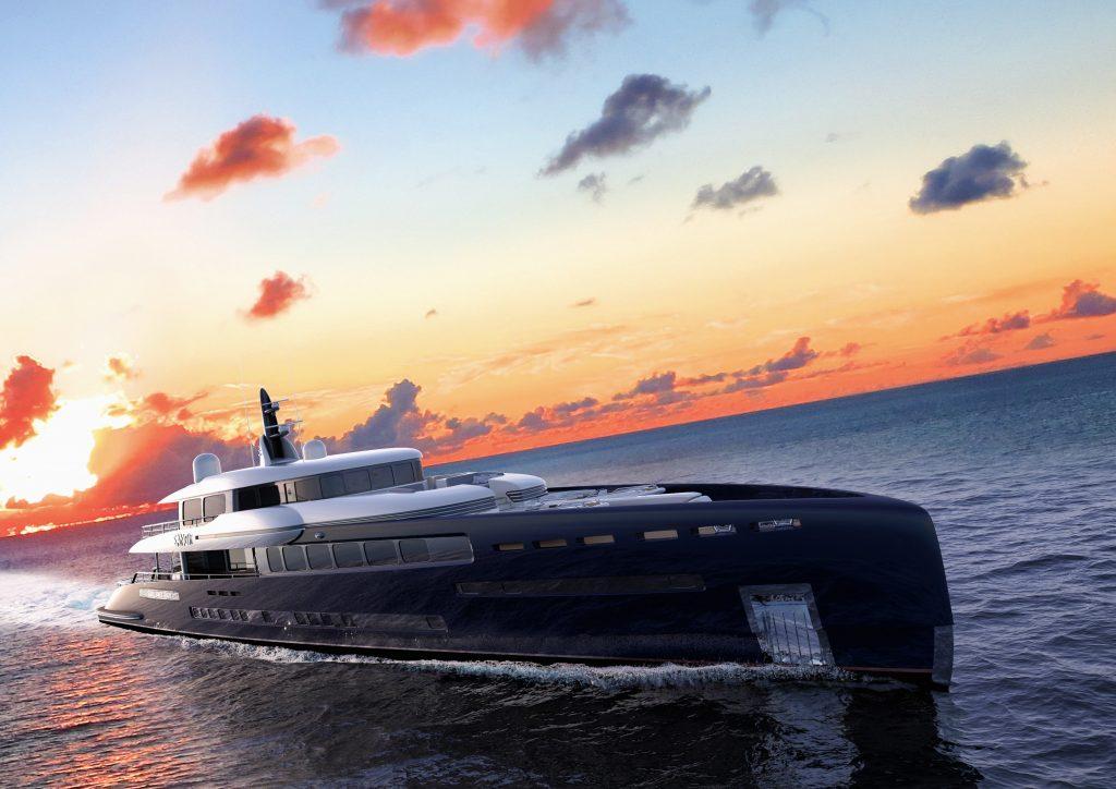 Sangi, il superyacht del futuro secondo Royal Huisman