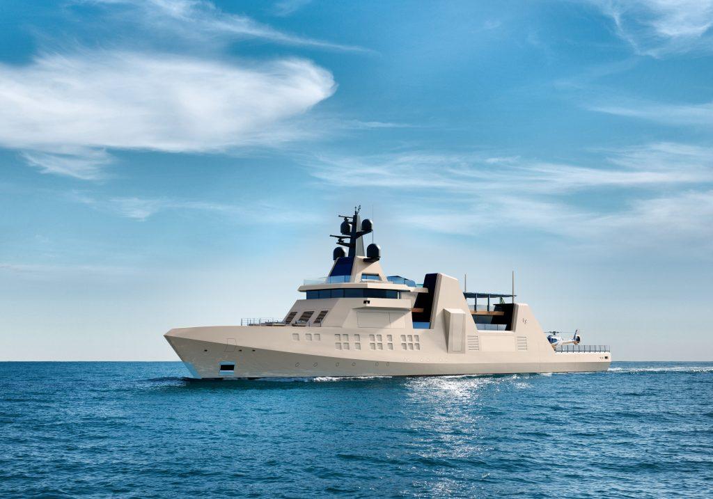 Fincantieri Yachts presenta VIS, il megayacht ispirato alle moderne navi militari