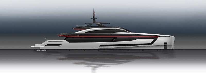 Heesen vende Project SkyFall, full-custom di 59 metri dalle grandi prestazioni sportive