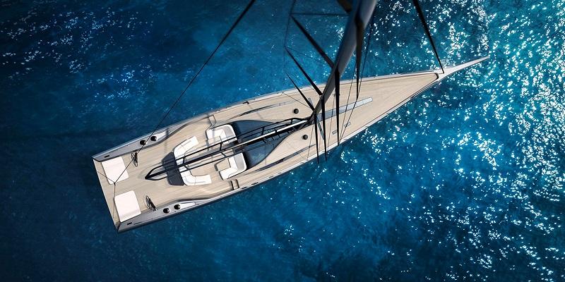 Wally presenta il nuovo sloop high performance di 101 piedi al Cannes Yachting Festival 2019
