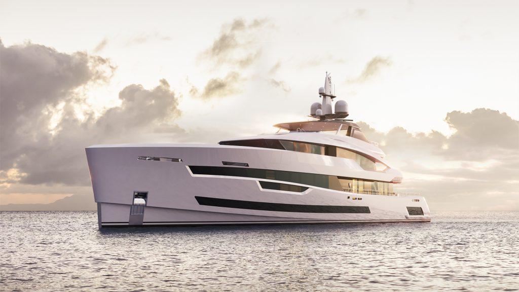 Project Akira, il nuovo progetto di 57 metri di Heesen dal design unico e straordinario
