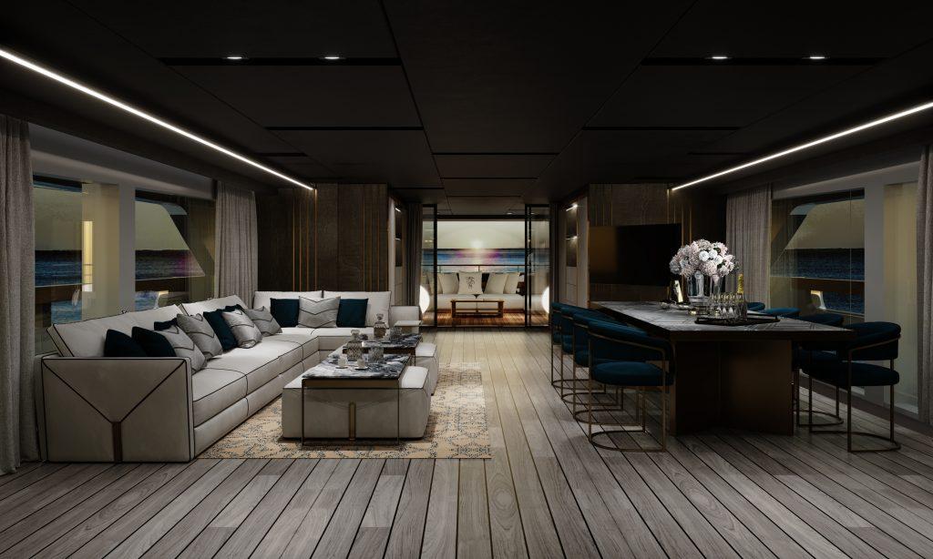 Baglietto sceglie Visionnaire per gli interni del 48m T-Line