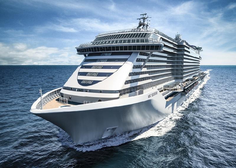 MSC Crociere e Fincantieri svelano la nave più grande e tecnologica costruita in Italia: MSC Seashore
