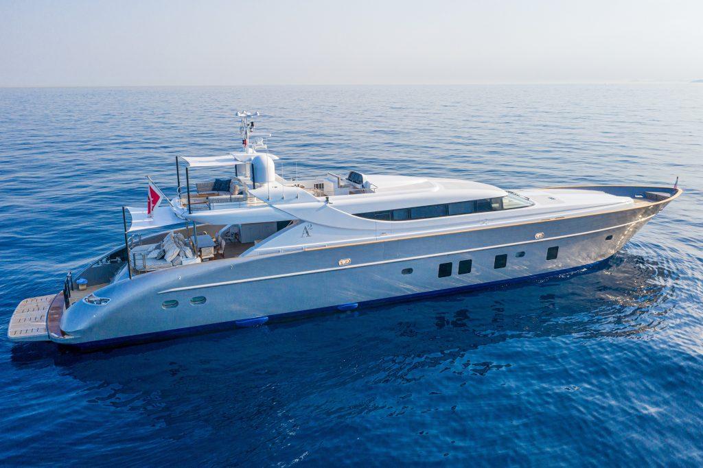 Tommaso Spadolini svela i segreti del refit dello sport yacht A2
