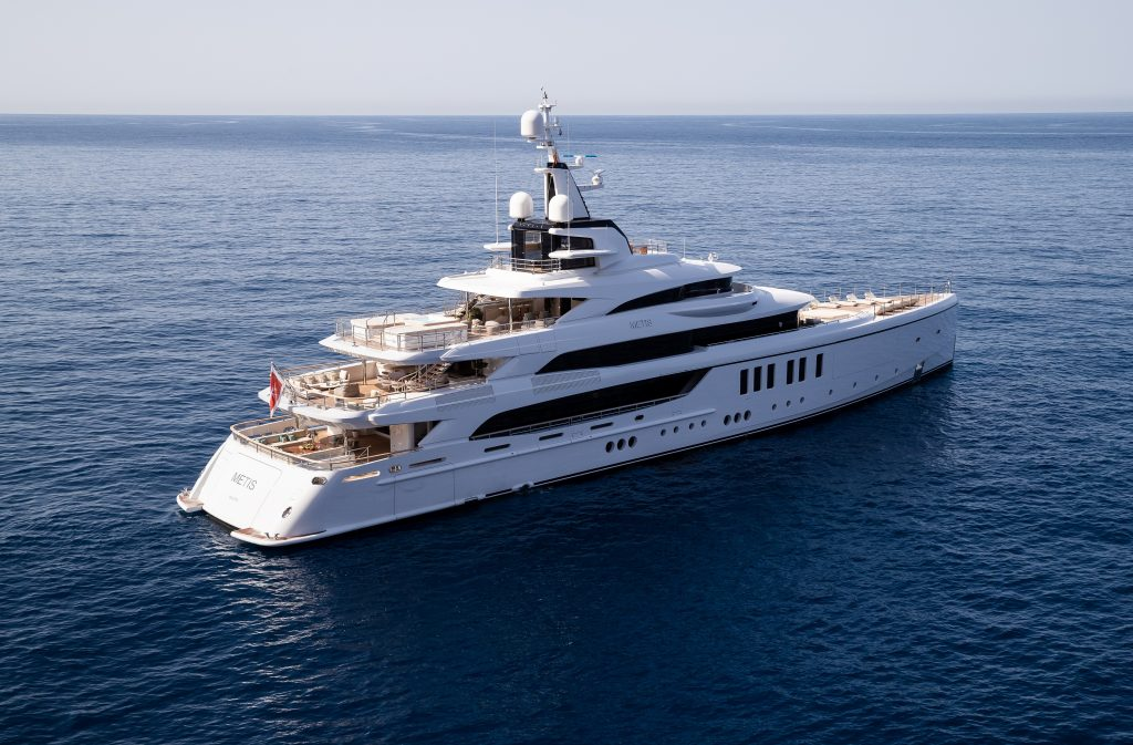 "Benetti ""Metis"" vince ai l World Superyacht Awards per la categoria ""Yacht dislocanti tra 1.000 e 1.499 GT"""