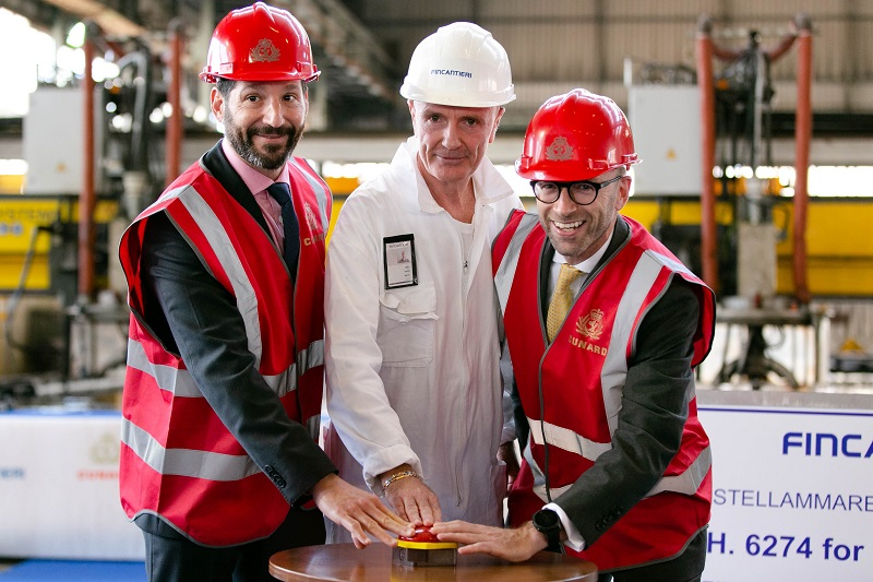 Avviata la costruzione della nuova nave di Cunard