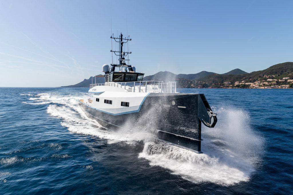 Joy Rider, il più lussuoso e confortevole yacht di supporto Damen