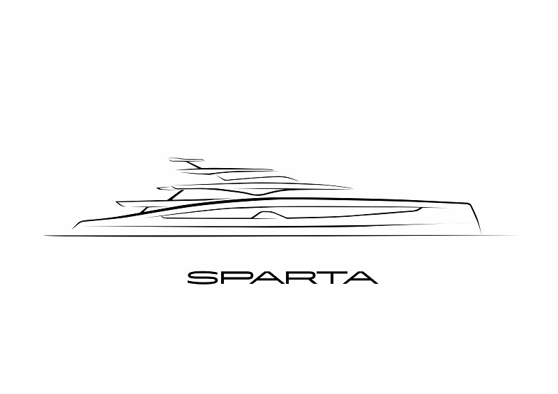 Heesen vende Project Sparta, 67 metri firmato Winch Design