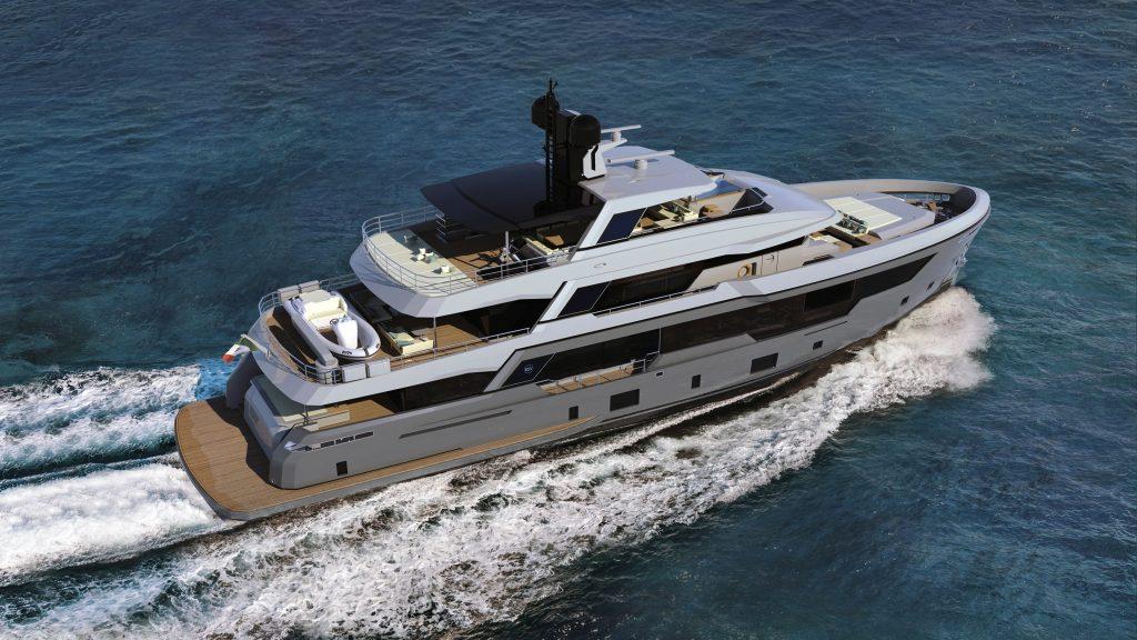 Rosetti Superyachts svela i dettagli del suo nuovo explorer di 38 metri