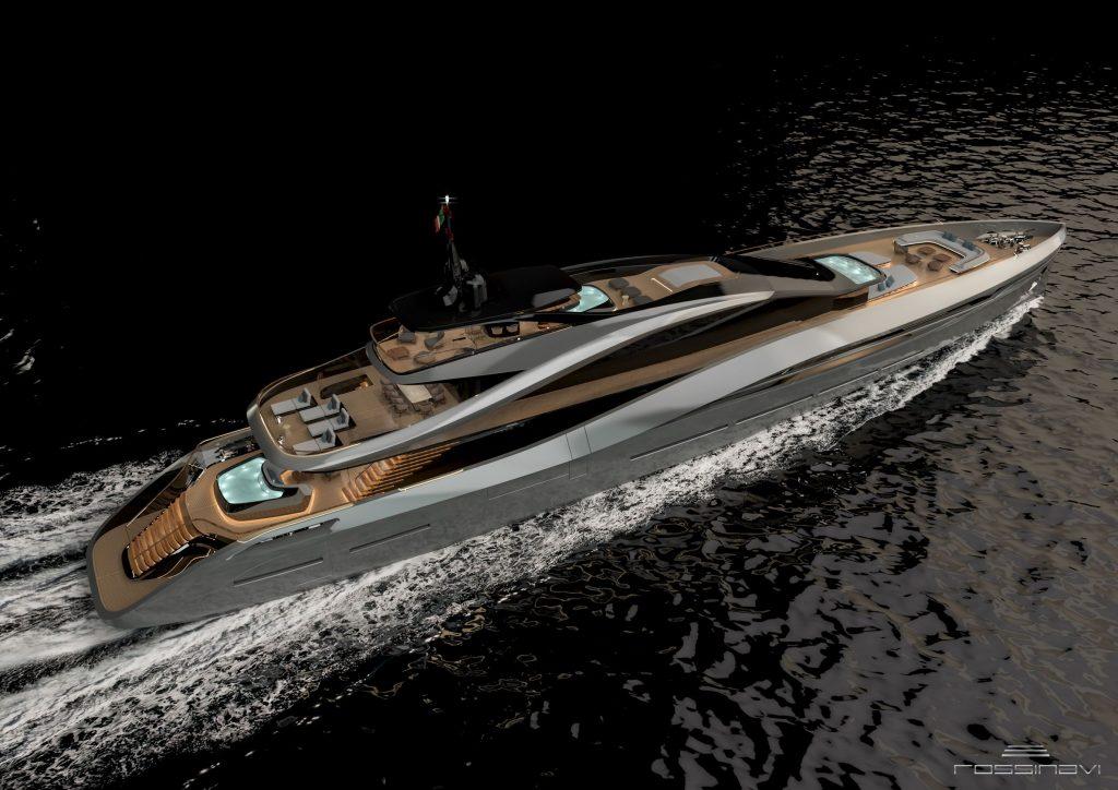 Rossinavi e Pininfarina uniscono le forze per dare vita a Super Sport 65, nuovo concetto di superyacht ispirato alle auto sportive