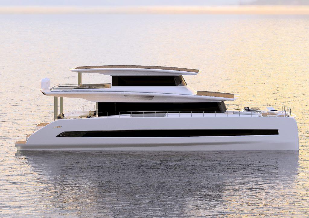 Silent 80 Tri-Deck, il primo catamarano superyacht alimentato completamente ad energia solare