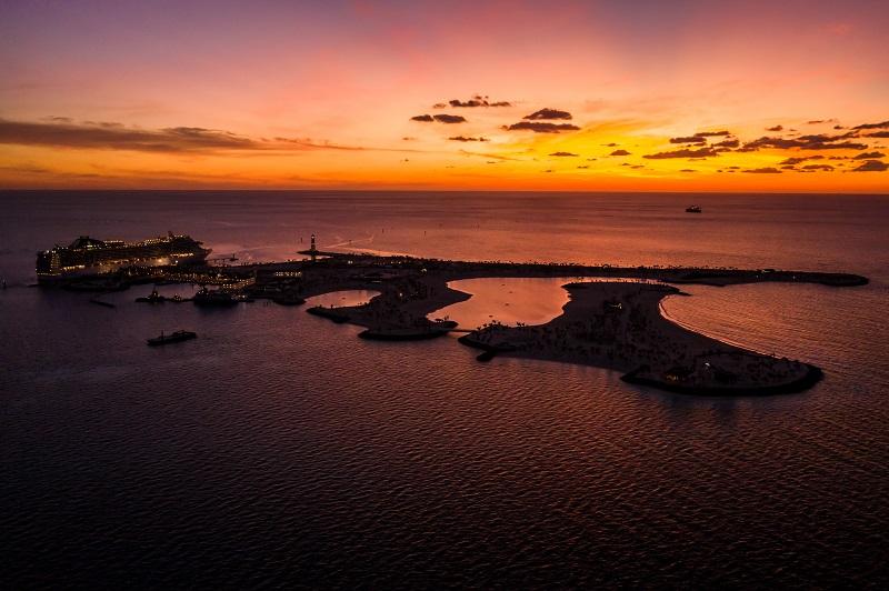 Ocean Cay MSC Marine Reserve accoglie i primi ospiti