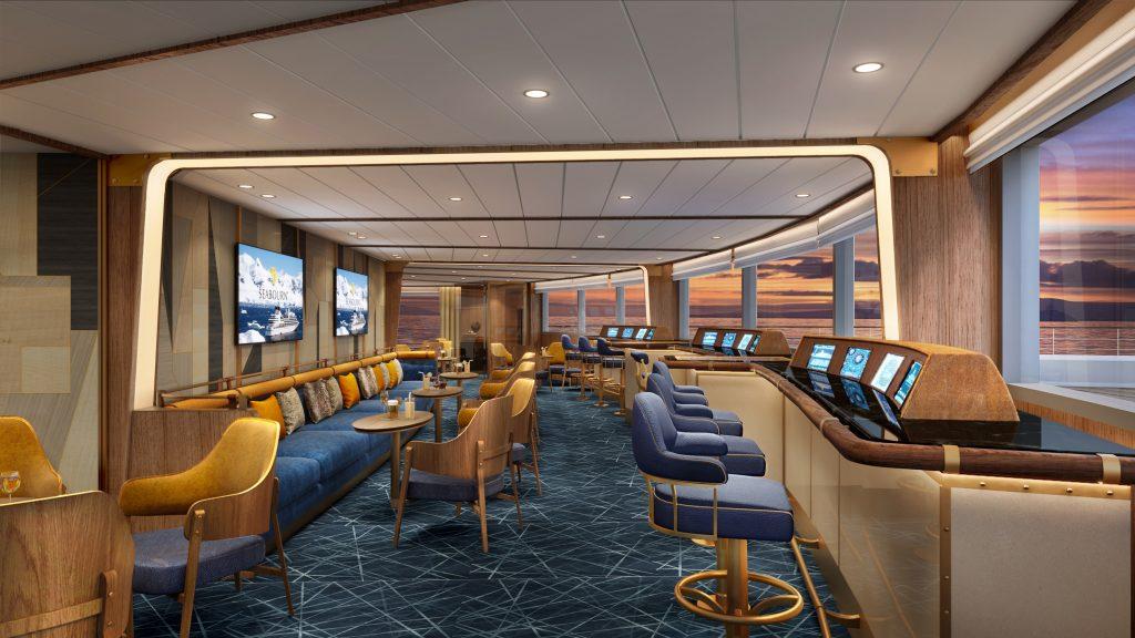 Seabourn presenta Bow Lounge, l'esclusiva observation lounge di Seabourn Venture