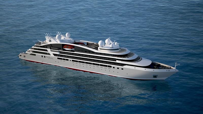 Firmato il contratto per le 2 nuove navi da crociera di Ponant