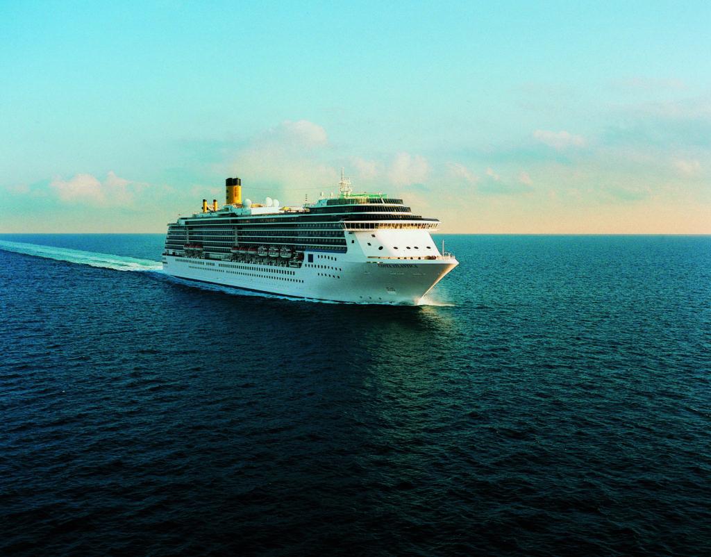 Costa Atlantica ha lasciato ufficialmente la flotta di Costa Crociere