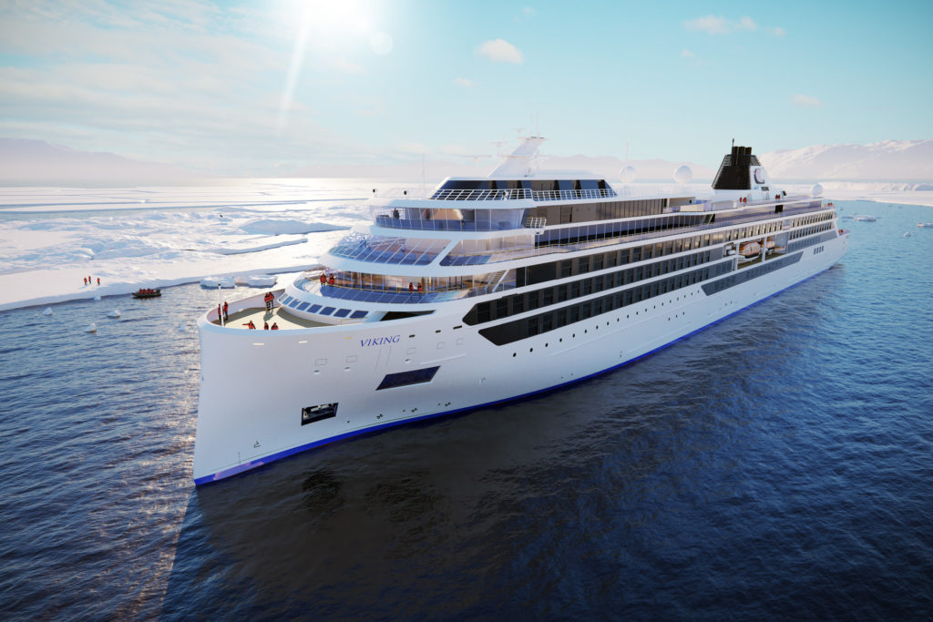 Viking presenta i rendering delle navi da spedizione