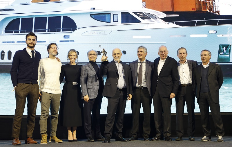 "Il MY Vanadis di CCN vince ai Boat International Design & Innovation Awards nella categoria ""Eco Award"""