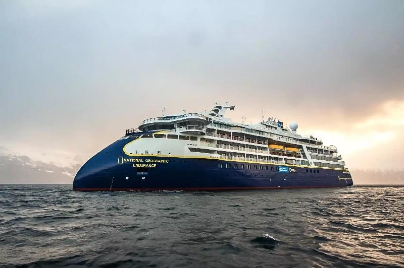 Completate con successo le prove in mare della National Geographic Endurance