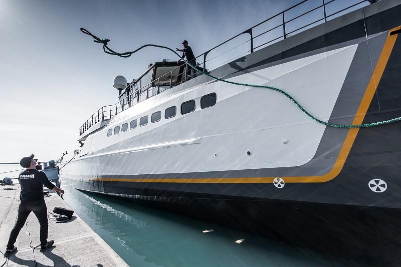 Varato Blue Ocean, Damen Yacht Support di 55 metri
