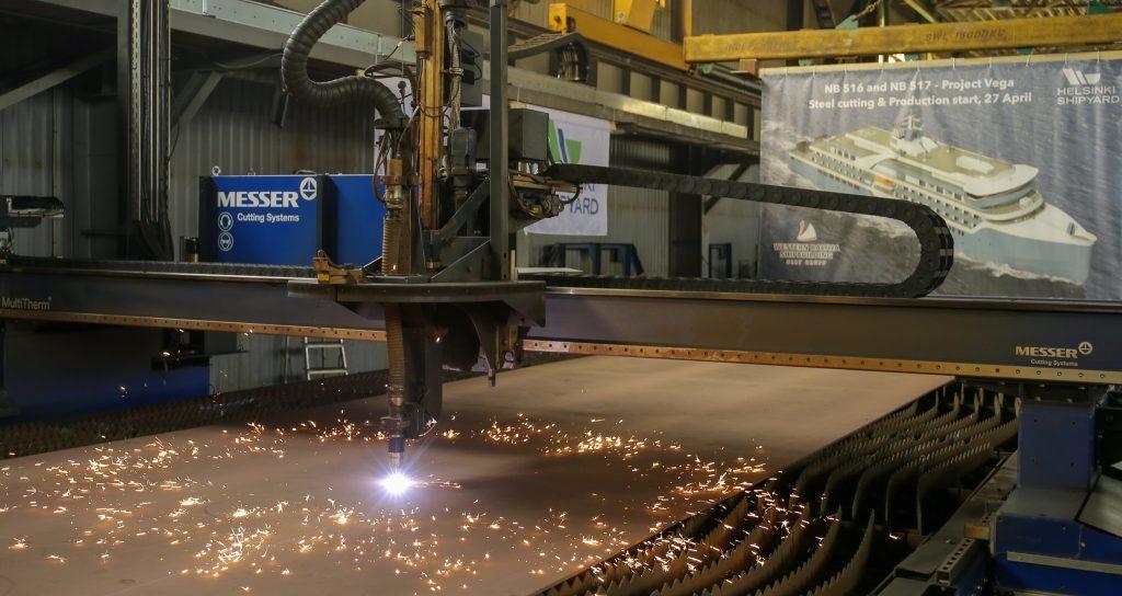 Helsinki Shipyard avvia la costruzione della prima nave da spedizione per Vodohod