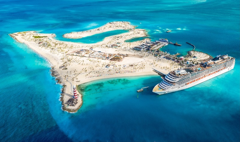 """Ocean Cay MSC Marine Reserve sarà protagonista della nuova serie TV di National Geographic """"Come si costruisce un'isola paradisiaca"""""""