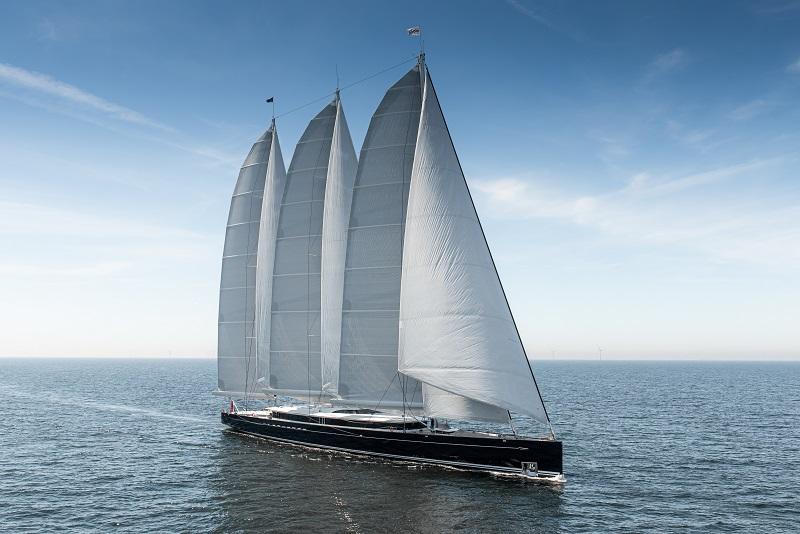 Completate le prove in mare di Sea Eagle II, il veliero in alluminio più grande del mondo