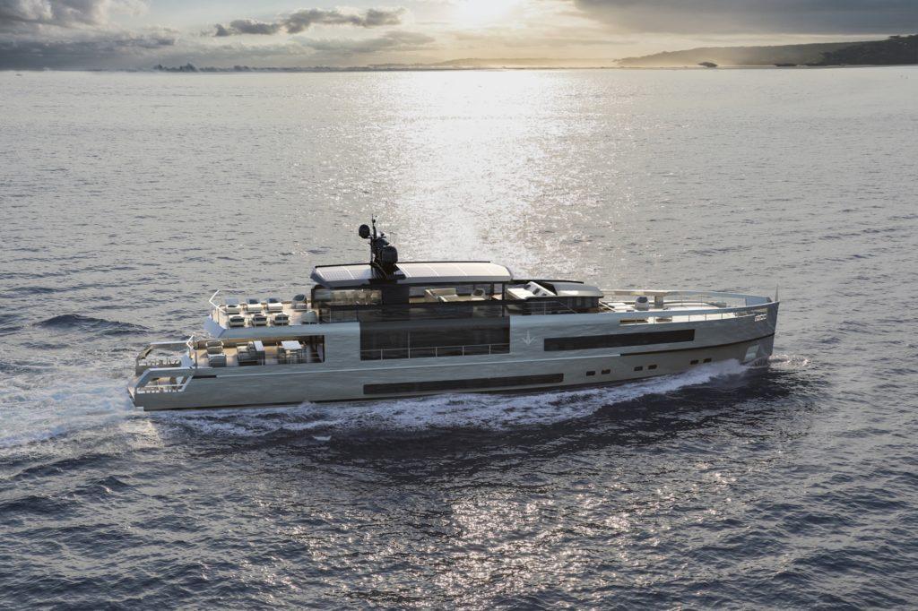 UP40 – Crossover, il primo yacht di Antonini Navi